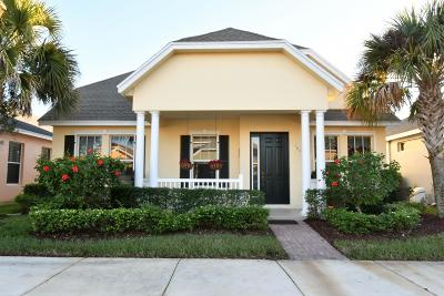 Port Saint Lucie Single Family Home For Sale: 10511 SW Kelsey Way