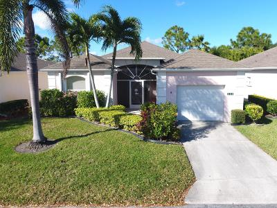 Port Saint Lucie Single Family Home For Sale: 554 NW Cortina Lane