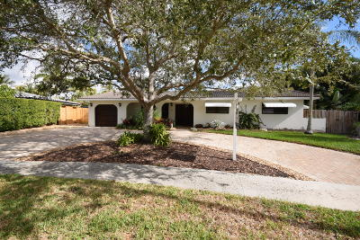 Boca Raton Single Family Home Contingent: 548 NW 12th Terrace