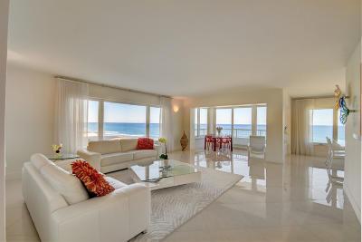 Condo For Sale: 600 S Ocean Boulevard #608