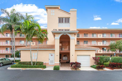 Boynton Beach Condo For Sale: 5746 Crystal Shores Drive #207