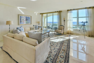 Highland Beach Condo For Sale: 3740 S Ocean Boulevard #606