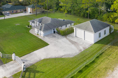 Loxahatchee Single Family Home For Sale: 14681 Temple Blvd Boulevard