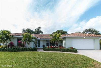Lake Worth Single Family Home For Sale: 1601 W Terrace Drive