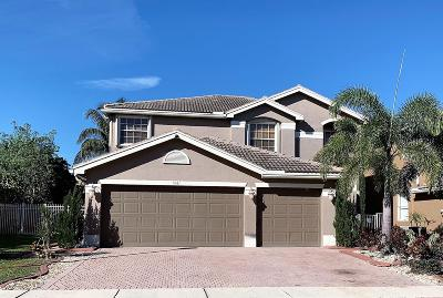 Greenacres Single Family Home For Sale: 5541 Baja Terrace