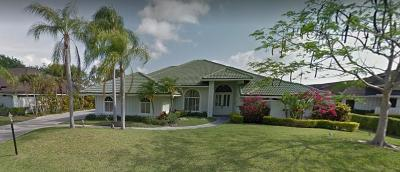 Palm Beach Gardens FL Single Family Home For Sale: $500,000