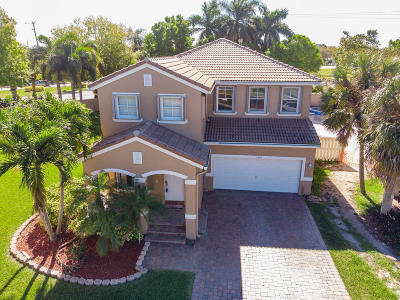 Lake Worth Single Family Home For Sale: 5265 Sancerre Circle