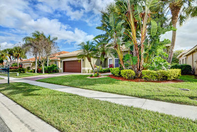 Boynton Beach Single Family Home For Sale: 9062 Terni Lane
