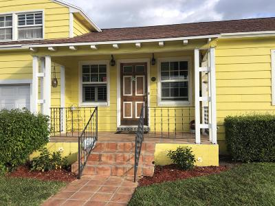 Lake Worth Single Family Home For Sale: 702 11th Avenue