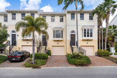 Juno Beach Townhouse For Sale: 421 Juno Dunes Way