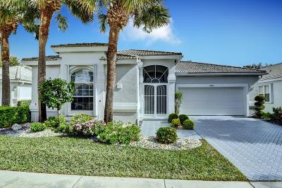 Boynton Beach Single Family Home For Sale: 9786 Arbor View Drive S