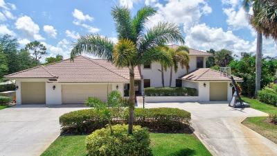 Boynton Beach Single Family Home For Sale: 4721 Sabal Palm Drive