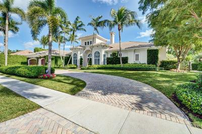 Palm Beach County Single Family Home For Sale: 12820 Mizner Way