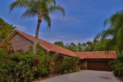 Palm Beach Gardens FL Single Family Home For Sale: $510,000