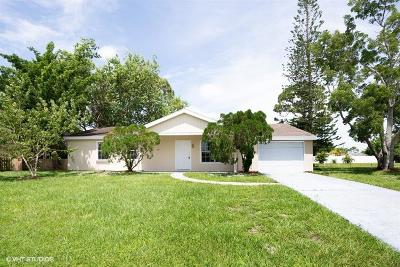 Port Saint Lucie Single Family Home For Sale: 269 SW Kentwood Road