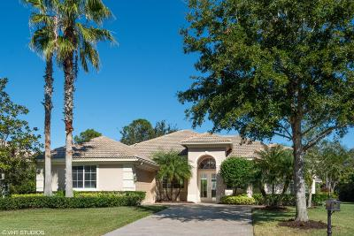 Port Saint Lucie Single Family Home For Sale: 10317 Crosby Place