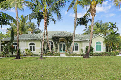 Palm Beach Gardens Single Family Home For Sale: 7127 155th Place
