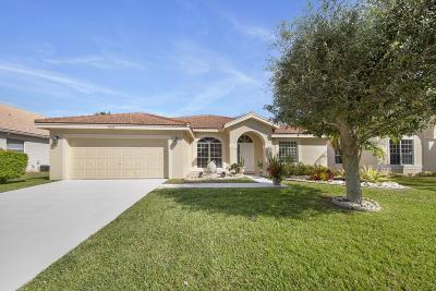 Lake Worth Single Family Home For Sale: 7608 Cedar Hurst Court