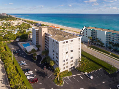 Juno Beach Condo For Sale: 911 Ocean Drive #801