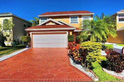 Boynton Beach Single Family Home For Sale: 1078 Fairfax Circle W