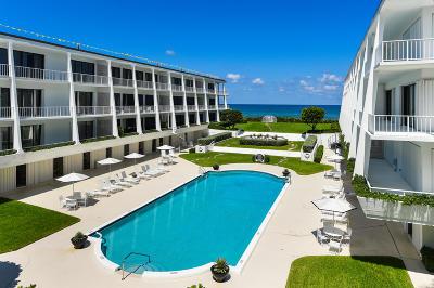 Palm Beach Condo For Sale: 2275 S Ocean Boulevard #103s
