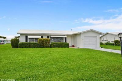 Boynton Beach Rental For Rent: 2123 SW Lake Circle Drive