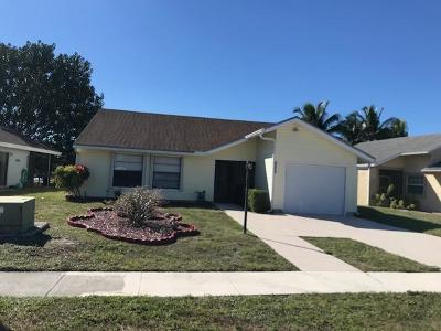 West Palm Beach Single Family Home For Sale: 4523 Brook Drive