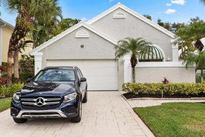 West Palm Beach Single Family Home For Sale: 9309 Heathridge Drive