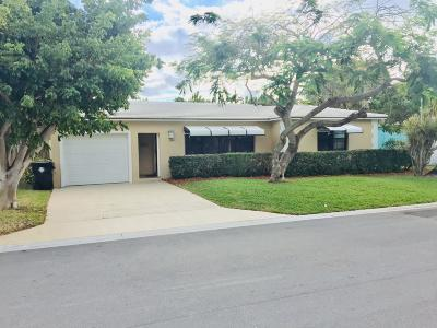 Lake Worth Single Family Home For Sale: 1520 M Street