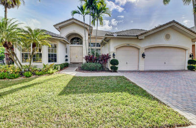 Boca Raton Single Family Home For Sale: 19510 Saturnia Lakes Drive