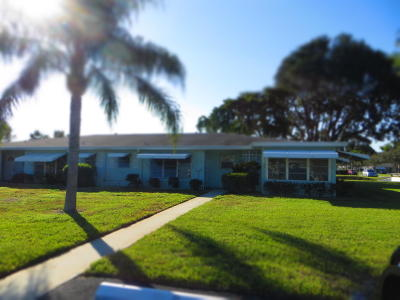 Delray Beach Single Family Home For Sale: 310 High Point Boulevard #C