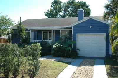 West Palm Beach Single Family Home For Sale: 512 36th Street
