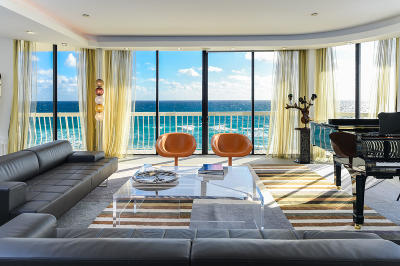 Palm Beach Condo For Sale: 2100 S Ocean Boulevard #508n