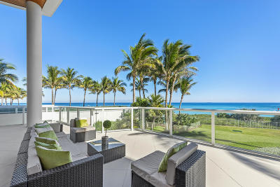 Palm Beach County Condo For Sale: 1000 S Ocean Boulevard #107