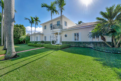 Palm Beach FL Single Family Home For Sale: $5,600,000