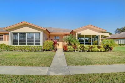 Delray Beach Single Family Home For Sale: 14719 Canalview Drive #D