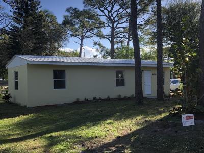 Stuart Single Family Home For Sale: 5317 SE Isabelita Avenue