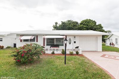 Boynton Beach Single Family Home For Sale: 103 NW 8th Place