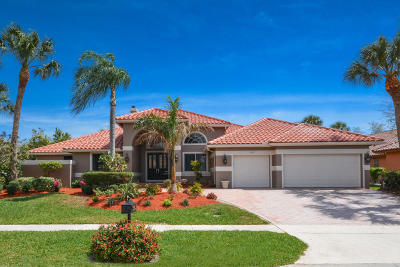 Boca Raton Single Family Home For Sale: 7135 Mariana Court