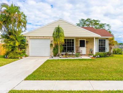 Royal Palm Beach Single Family Home For Sale: 1196 Grandview Circle