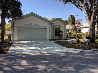 Greenacres Single Family Home For Sale: 105 Harbor Lake Circle
