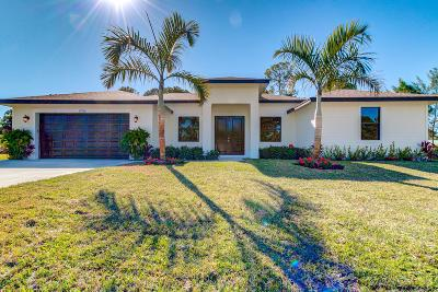 Loxahatchee Single Family Home For Sale: 12736 62nd Lane