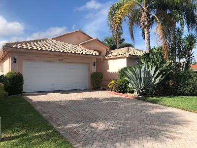 Boynton Beach Single Family Home For Sale: 11689 Dove Hollow Avenue