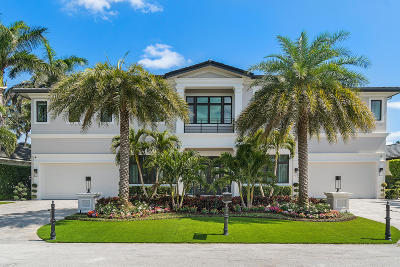 Boca Raton FL Single Family Home For Sale: $6,250,000