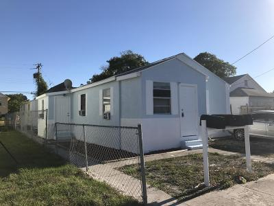 West Palm Beach Multi Family Home For Sale: 536 18th Street