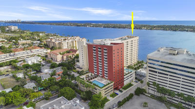 West Palm Beach Condo For Sale: 1551 Flagler Drive #815