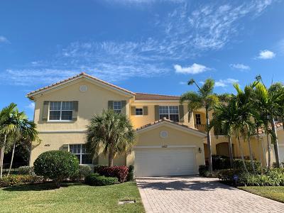 Palm Beach Gardens Townhouse For Sale: 4627 Cadiz Circle