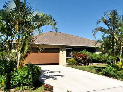 Port Saint Lucie Single Family Home Contingent: 481 SW Dairy Road
