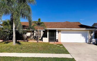 Wellington Single Family Home For Sale: 13834 Geranium Place