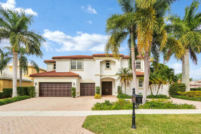 Boca Raton FL Single Family Home For Sale: $630,000